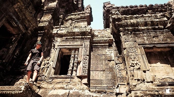 Chau Say Thevoda, temple de la période d'Angkor