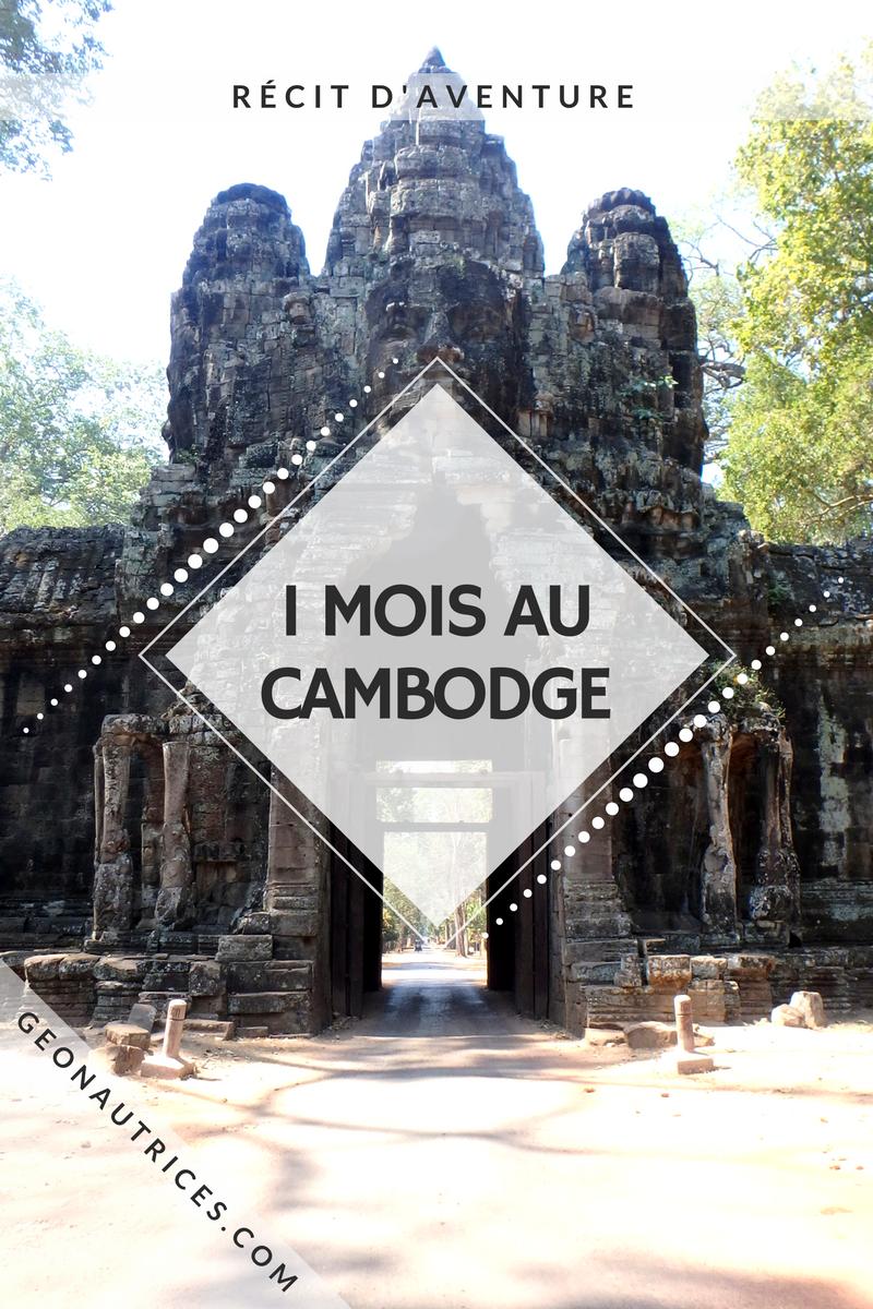 Un mois de voyage au Cambodge ! Itinéraire, activité, villes visitées. #cambodge #asiesudest #backpacking