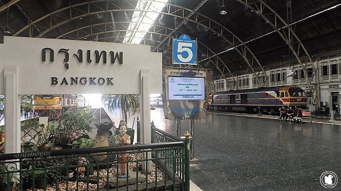 Gare de Bangkok, Thaïlande