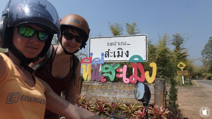 Journée moto autour de Doi Suthep Pui