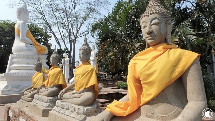 Wat Yai Chaya Mongkol, Thaïlande