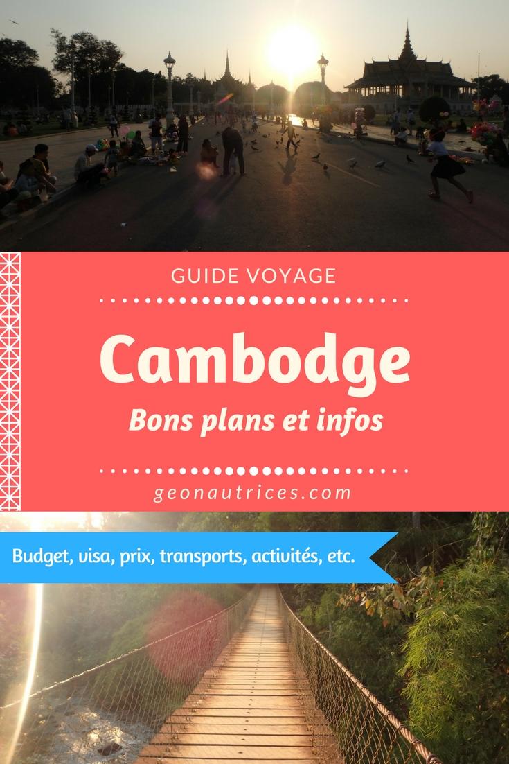 Après un séjour d'un mois au Cambodge, on donne nos bons plans et infos pour découvrir le pays petit à petit. #cambodge #asiesudest #backpacking