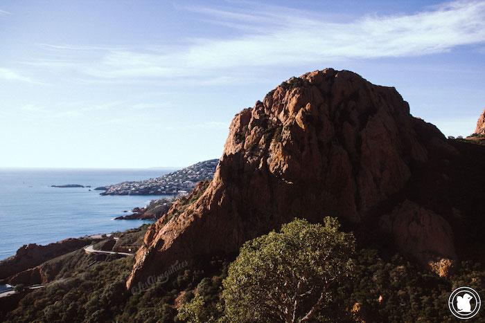 Vue Massif Estérel - Randonnée Cap Roux