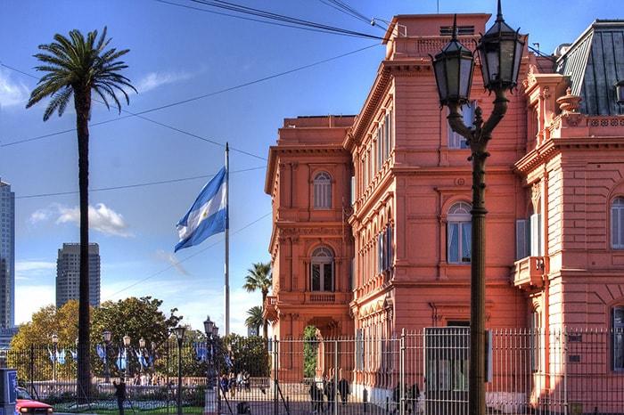 La Casa Rosada à Buenos Aires en Argentine
