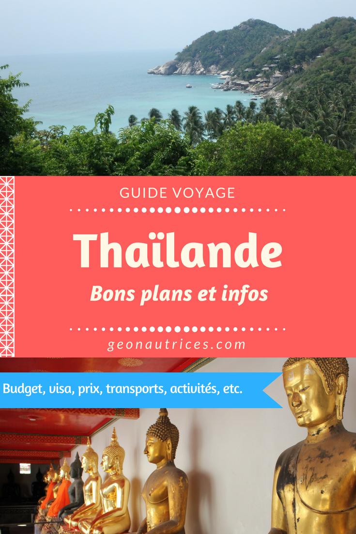 Bons plans et infos pour optimiser son séjour en Thaïlande : budget, hostels, etc. #thailande #backpacking #asie
