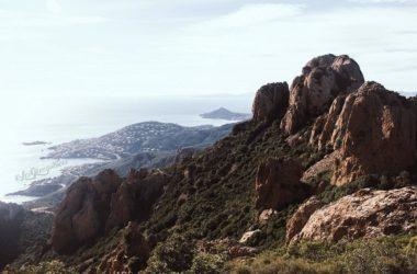 Randonnée pic du cap roux, Saint-Raphael