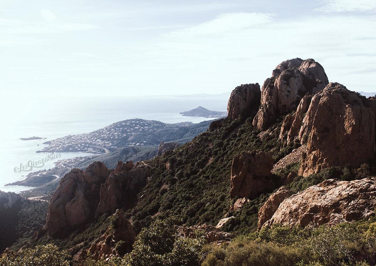 Randonnée au Pic du Cap Roux dans le Massif de l'Estérel (83)