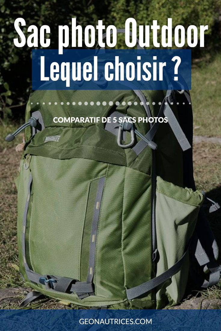 Vous cherchez un sac photo pour emporter votre matériel avec vous en randonnée, voyage ou autres activités outdoor ? Nous en avons comparé 5 et voici ce que nous en pensons dans cet article. #photo #sac #comparatif