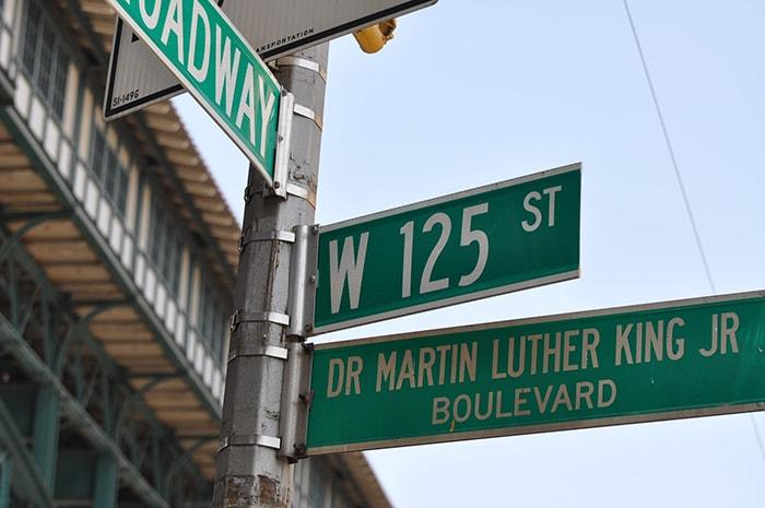 Quartier d'Harlem à New York