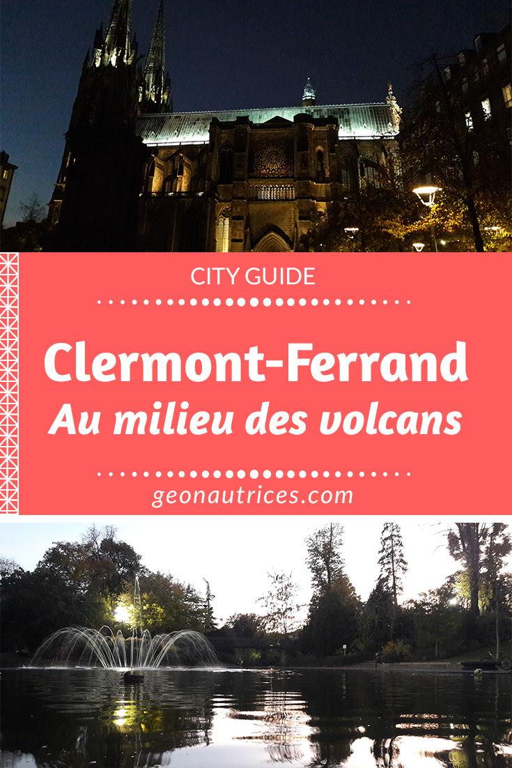 Présentation de notre séjour dans le Puy-de-Dôme, de Clermont-Ferrand à Orcines. Restaurants, activités, musées, etc. Nous vous partageons ce qu'il y a à faire à Clermont-Ferrand et ses alentours. #ClermontFerrand #France #Cityguide