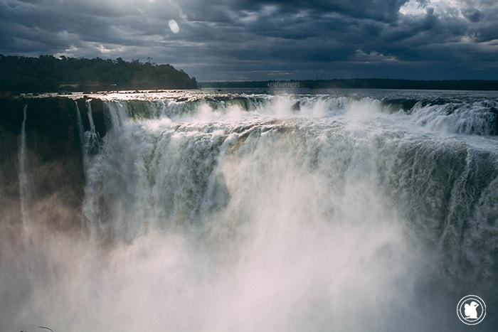 L'impressionnante Garganta del diablo à Iguazu, Argentine
