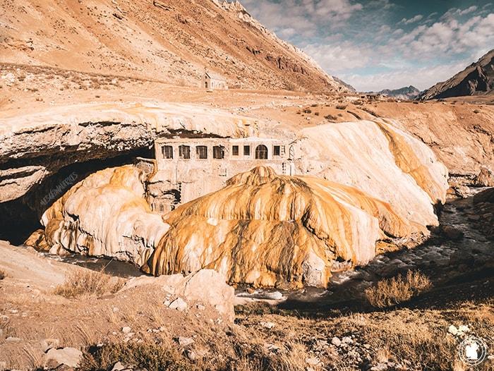 Puente del Inca recouvert de souffre