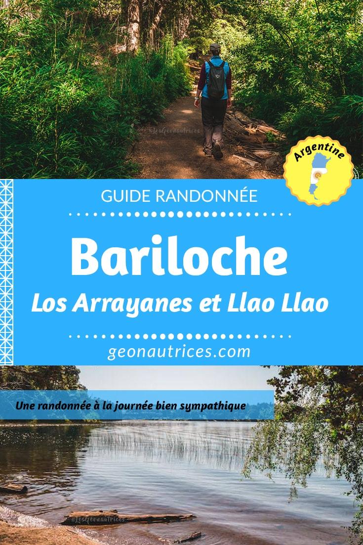 Une jolie petite randonnée d'une demi-journée à faire sur la péninsule Llao Llao vers Bariloche : Los Arrayanes et Llao Llao. Informations de la randonnée et détails, tout est dans l'article. #Argentine #Randonnée