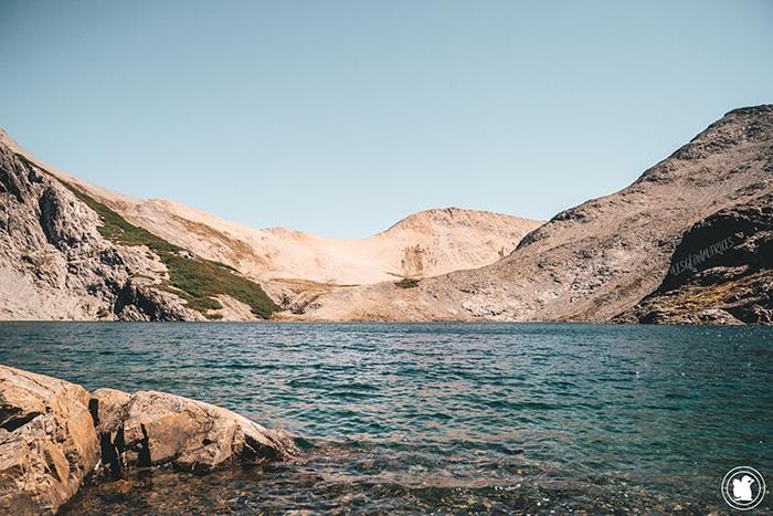 Vue sur la Laguna Negra