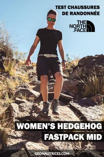 Voici un test approfondi des chaussures de randonnée The North Face - Women's Hedgehog Fastpack Mid. Test sur terrains faciles à accidentés, fort dénivelé cumulé, etc. Situations de test réelles. #randonnée #chaussures #test