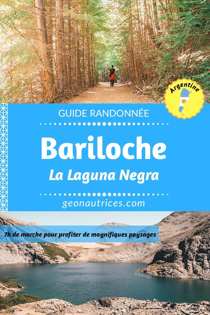 De passage à Bariloche en Argentine pour quelques jours ? La randonnée Laguna Negra pourra te plaire ! Nous te partageons toutes les informations à savoir pour faire cette randonnée. Entre forêt, montagne, ruisseaux et lac, tu serras servi ! :) #randonnée #bariloche #argentine
