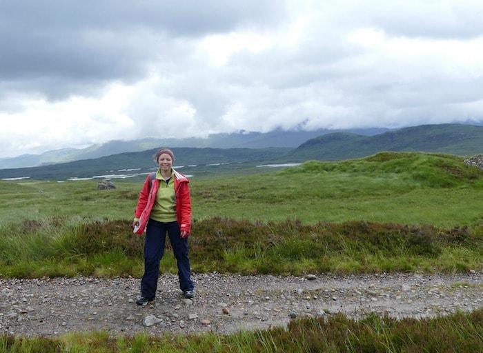 sophie sur la west highland way - oohmyworld