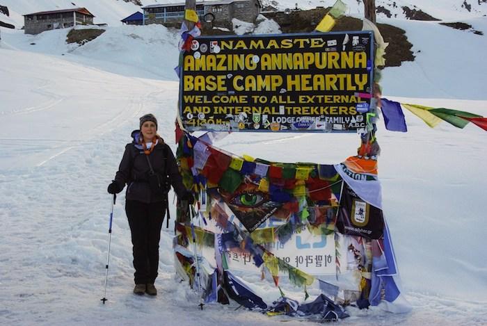 Trek Annapurnas Mathilde