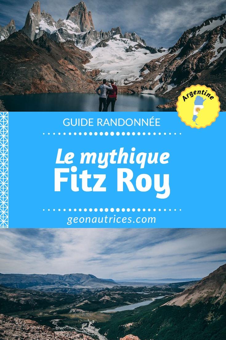 Récit de randonnée vers le Fitz Roy. Une randonnée d'une journée à observer les merveilles de la nature : glaciers, lagunas, montagnes.