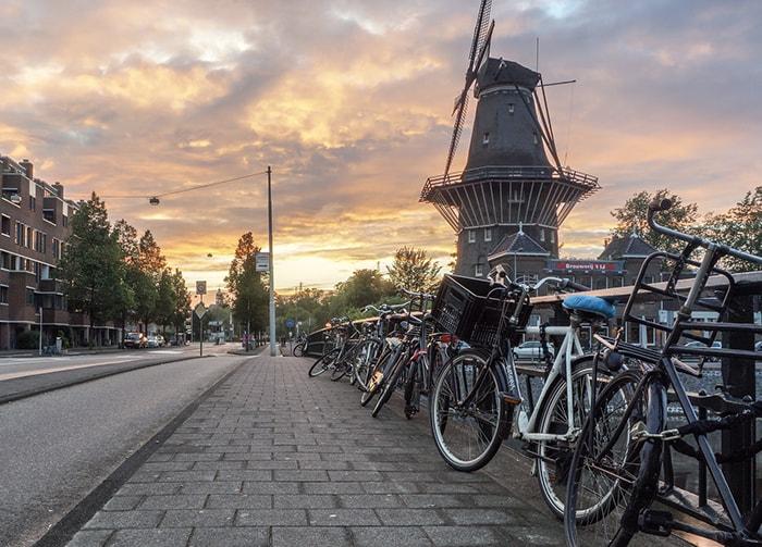 Amsterdam - Moulin - Pays-Bas
