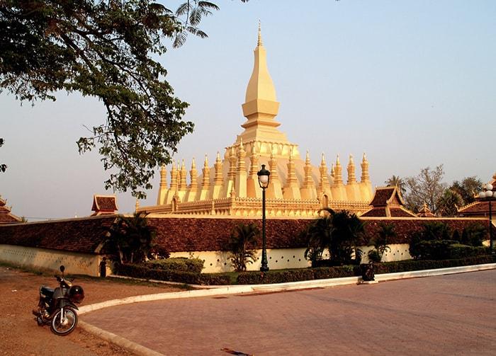 Golden Pagoda Vientiane Laos