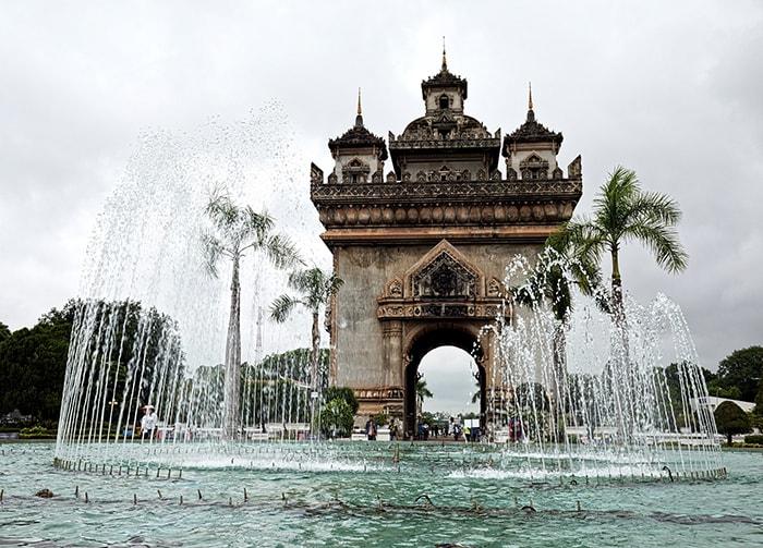 Patuxai Vientiane Laos