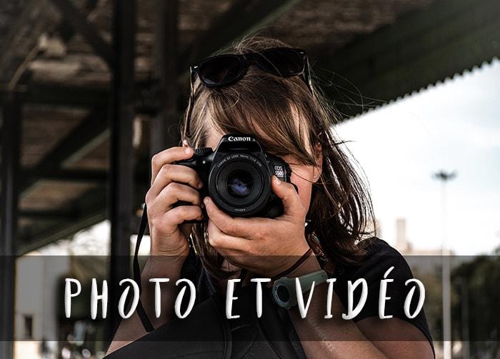 Photo et vidéo