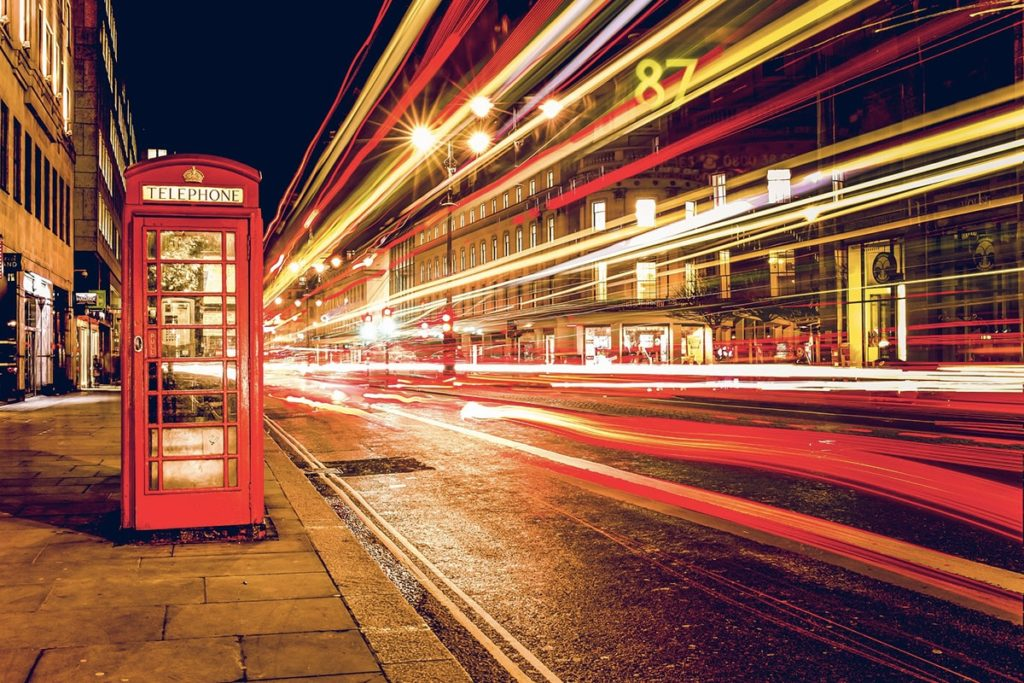 Telephone booth - Angleterre