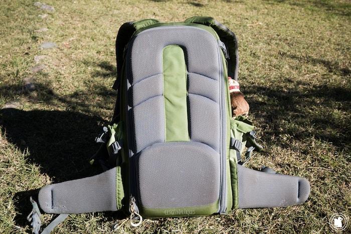 Dos du sac à dos Mindshift Gear Backlight 26l