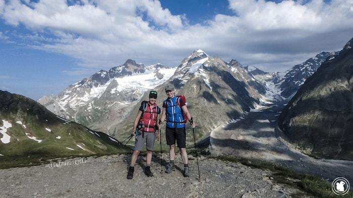 Les Géonautrices - Tour du Mont-Blanc