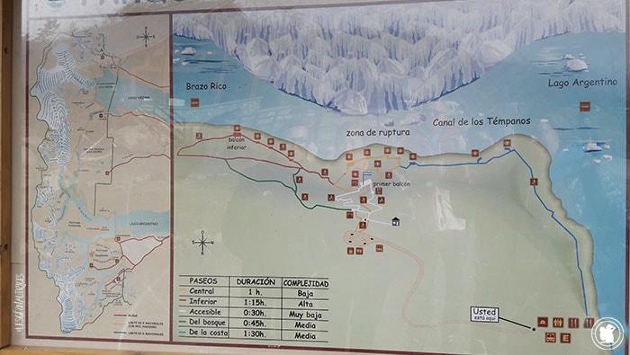 Carte Perito Moreno