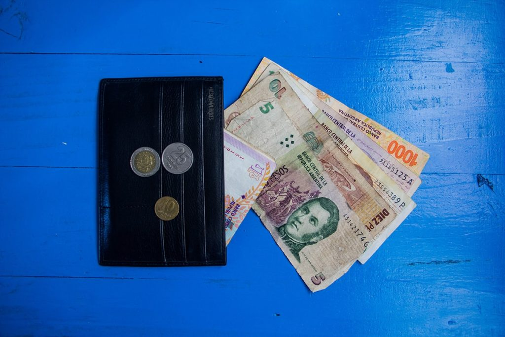 Gérer son argent et son budget en Argentine (pesos argentin)