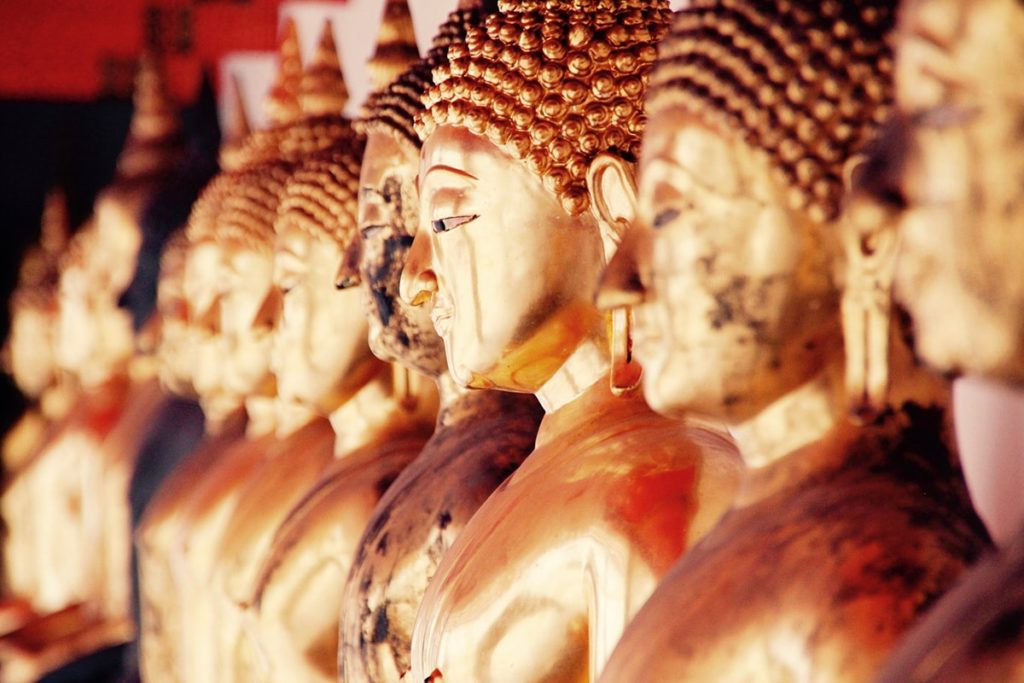 Temple de Bangkok en Thaiïande