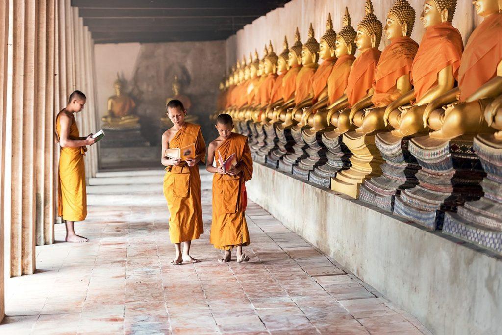 Le bouddhisme très présent en Thaïlande