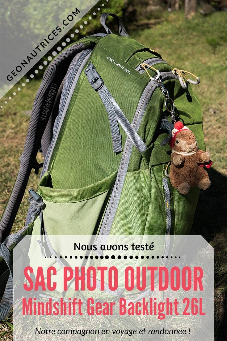Test sac photo outdoor Mindshift Gear. Ce sac est notre compagnon de route depuis 7 mois en voyage et lors de nos randonnées. Nous vous faisons notre retour d'expérience sur ce sac photo dans notre article. Allez lire ça. ;) #sacphoto #photo #voyage #outdoor #equipement