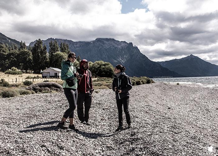 Sur les bords du lac huechulafquen