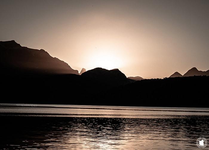 Coucher de soleil - Villa la Angostura