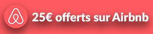 25€ offerts sur Airbnb
