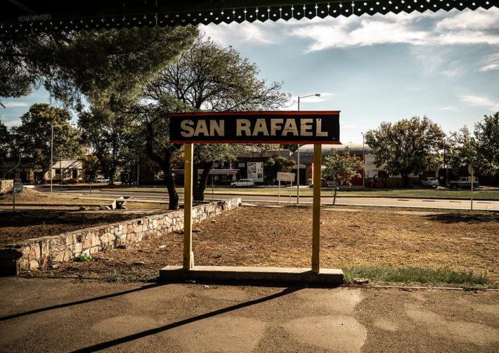 La ville de San Rafael en Argentine