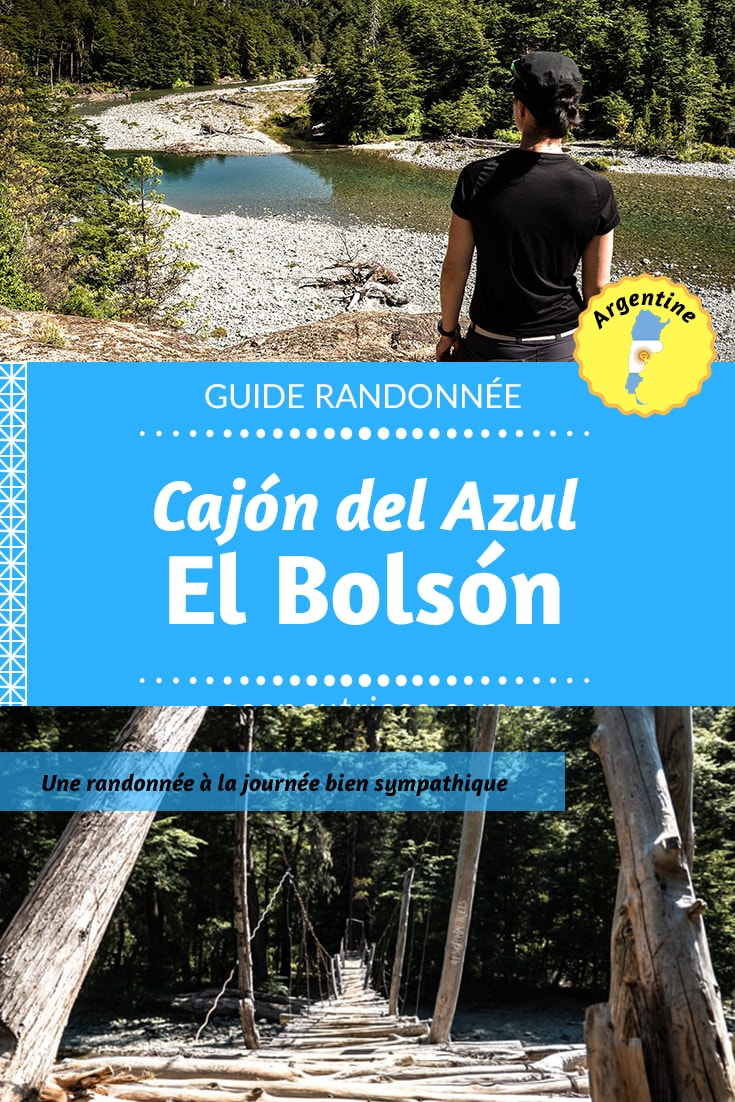 A la recherche d'une randonnée à faire en Patagonie argentine ? Venez avec nous à El Bolson, sur les sentiers menant au Cajon del Azul. Retrouvez le topo de cette randonnée à la journée ainsi que otre retour d'expérience dans notre article ! #randonnée #trekking #patagonie #argentine #voyage