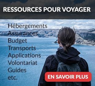 Toutes les infos utiles pour un voyage se trouvent dans cette page !