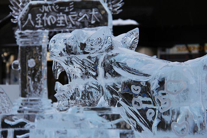 Le festival de sculpture de glace de Chine