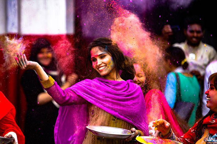 Holi en Inde, une fête haute en couleurs