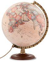 Globe du monde lumineux