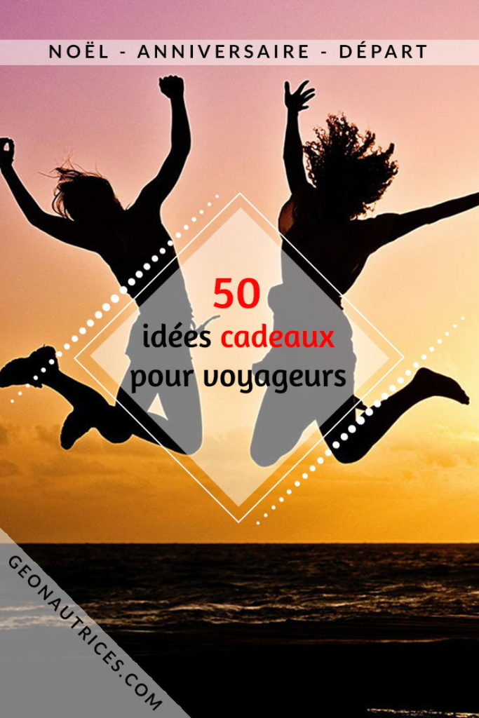 +75 idées cadeaux pour voyageurs et baroudeurs !  De l'utile, du gadget, de la déco, de la lecture, il y en a pour tous les goûts et tous les budgets !  Cette liste a été élaborée par et pour des voyageurs ! Soyez assurés de faire plaisir !  #cadeaux #noel #anniversaire #voyageur