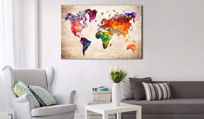 Tableau du monde