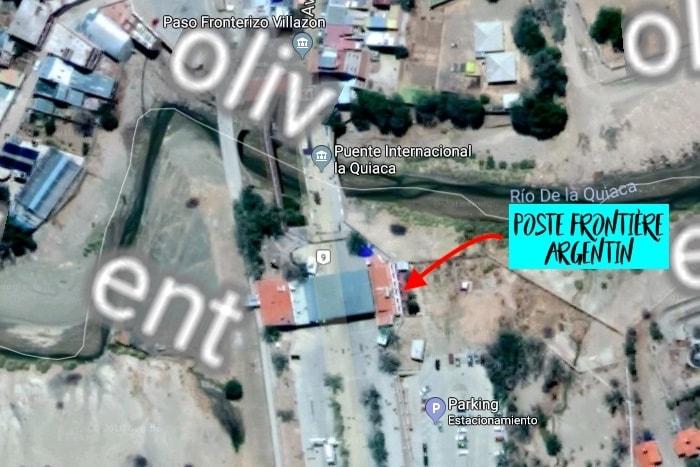 La Quiaca poste frontière