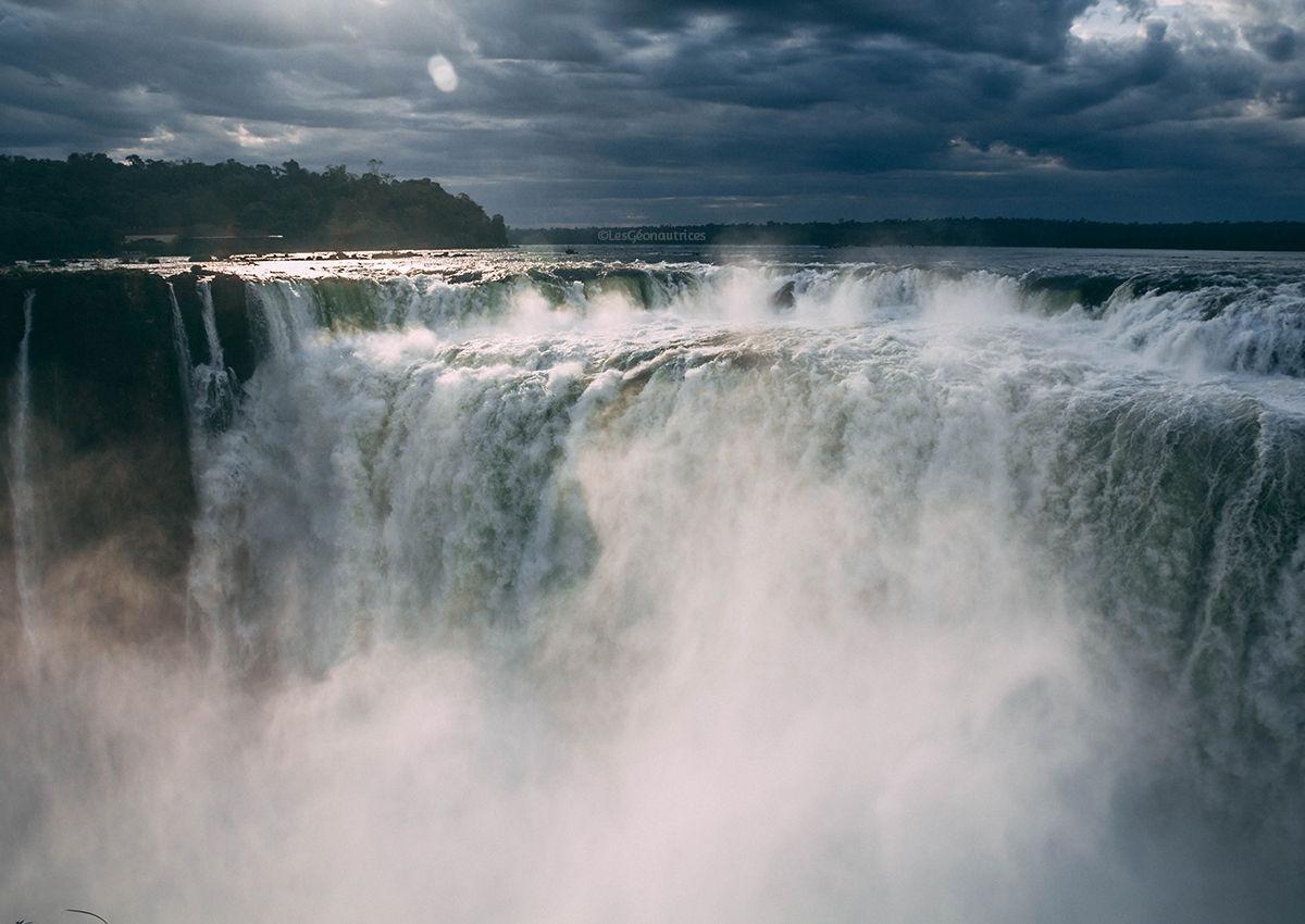 Les incroyables chutes d'Iguazu en Argentine