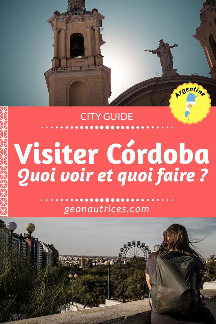 De passage par Cordoba en Argentine ? La 2e plus grande ville du pays à beaucoup à offrir ainsi que ces environs. Nous vous donnons toutes les informations sur quoi voir à Corboda et sa province ! #voyage #cordoba #argentine #pvt argentine #cityguide