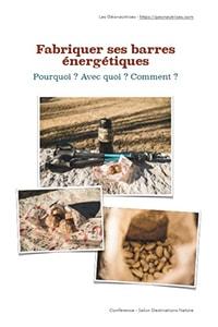 Fabriquer ses barres énergétiques